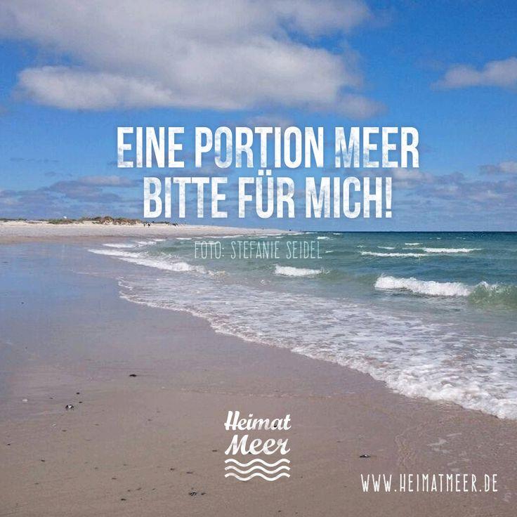 Eine Portion Meer bitte für mich! Heimatmeer