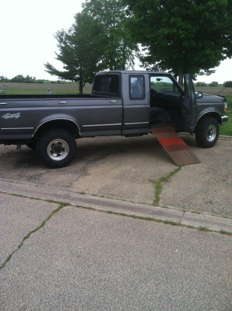 Homemade Pet Ramp For Truck