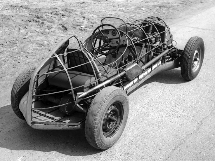 ГАЗ ГЛ-1 / GAZ GL-1 - First factory-build Soviet race car.