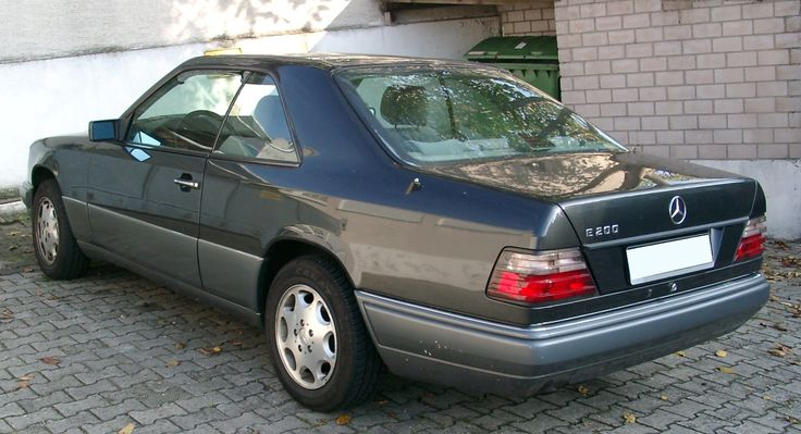 Mercedes W124 Coupe