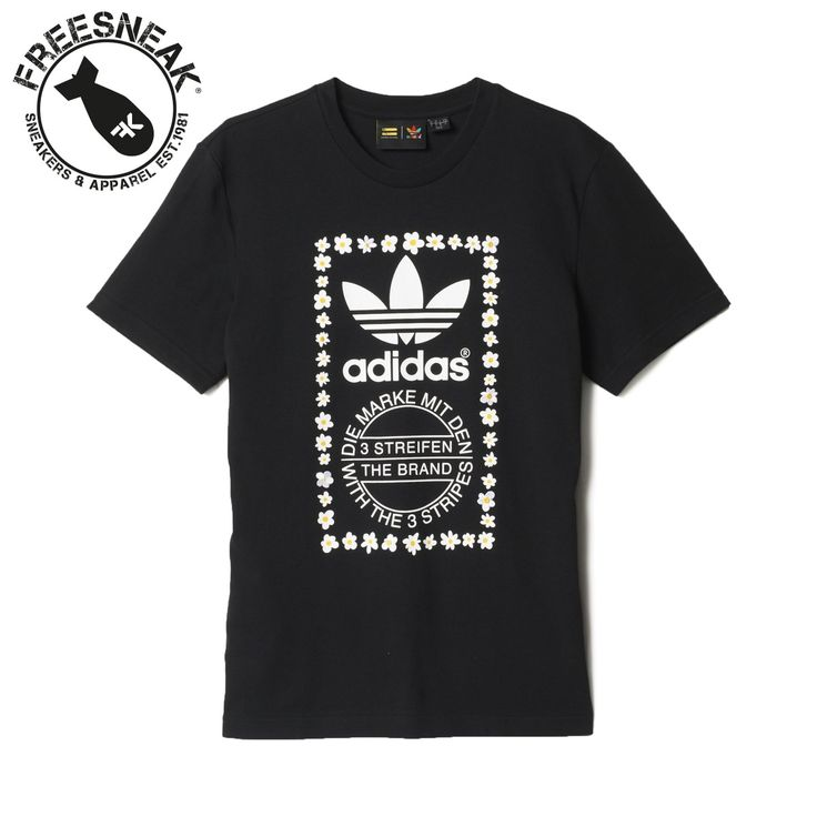T-Shirt Adidas Pharrell Williams Graphic Tee 1 Nero