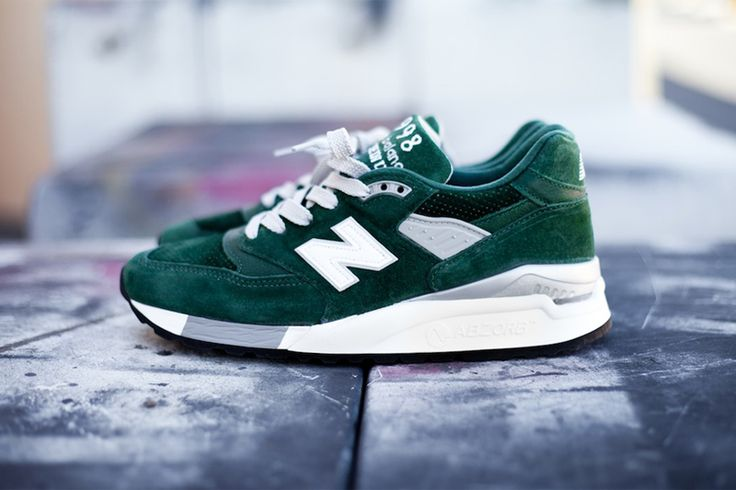 "New Balance M998BB ""Hunter Green."""