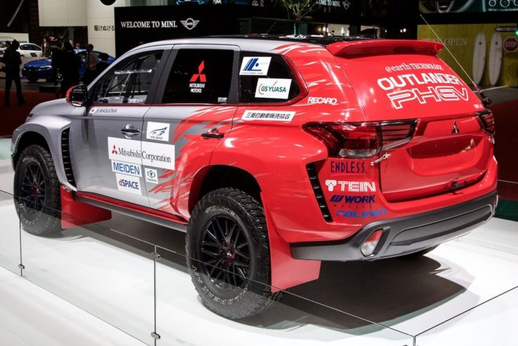 The 2016 Mitsubishi Outlander PHEV has tackled the Asia Cross Country Rally