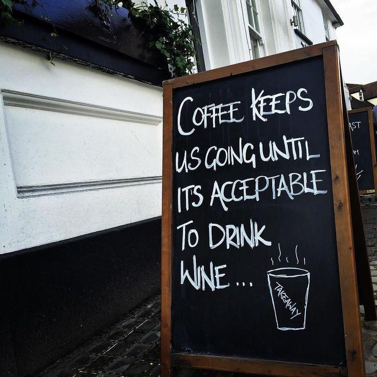 We live by this rule!! #takeawaycoffee #capouccino #latte #americano #espresso  #storrington #pub #restaurant  #inn #hotel #instadaily #instagood #picoftheday #bestoftheday #coffee #coffeelover by thewhitehorsestorrington