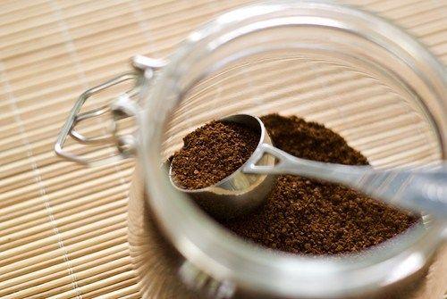 Молотый кофе с солью и перцем для мяса на гриле
