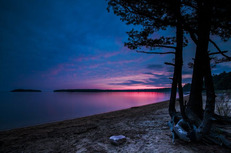 Never can say goodbye - Last of the sunset at Killbear Provincial Park
