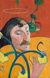 Paul Gauguin - Self-Portrait - 1889 - Painting