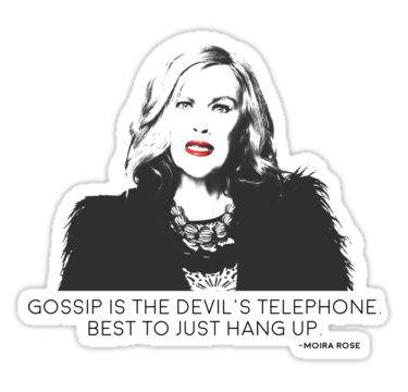 """Gossip is the devils telephone"" Stickers by soopermom11 ..."