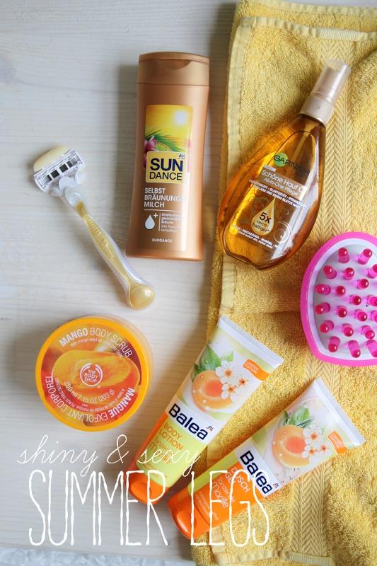 Beauty-Tipps für sexy Sommerbeine