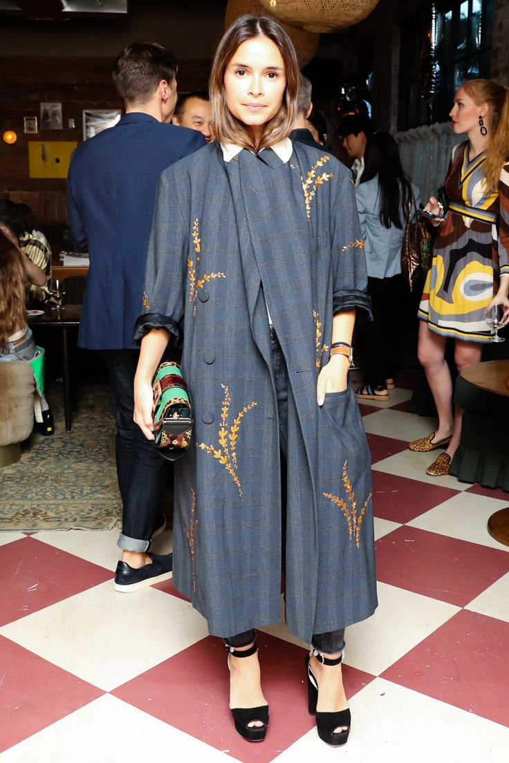 Introducing the Burberry Patchwork Bag--'bag'? you mean that bag she's wearing as a dress?