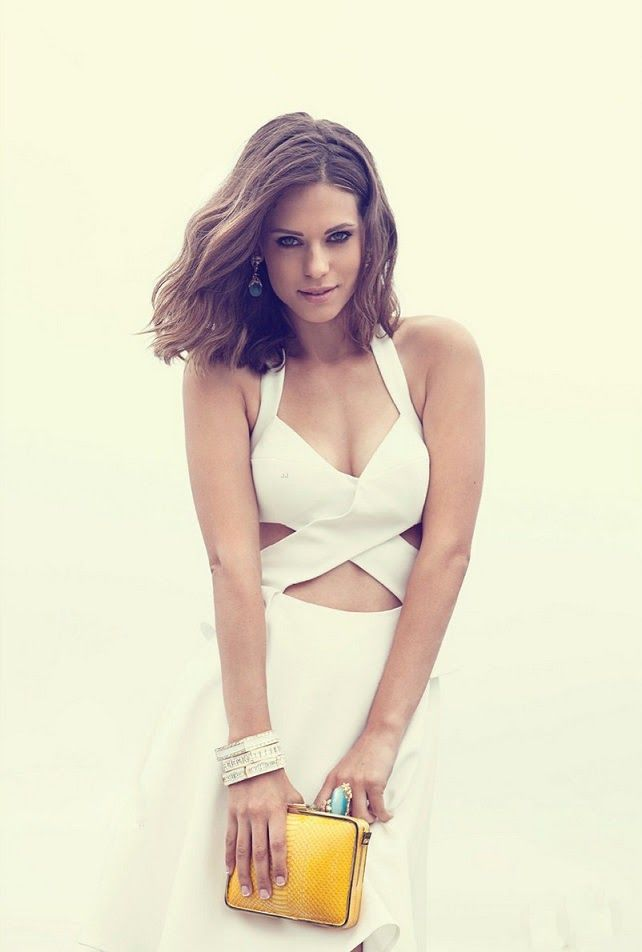 Lyndsy Fonseca poses for Bello Magazine August 2013