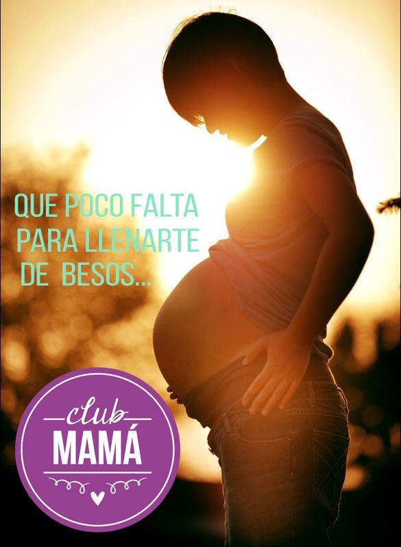 Que poco falta para llenarte de besos... #Embarazo #Maternidad #DulceEspera #Mamá #Bebé #baby #Love