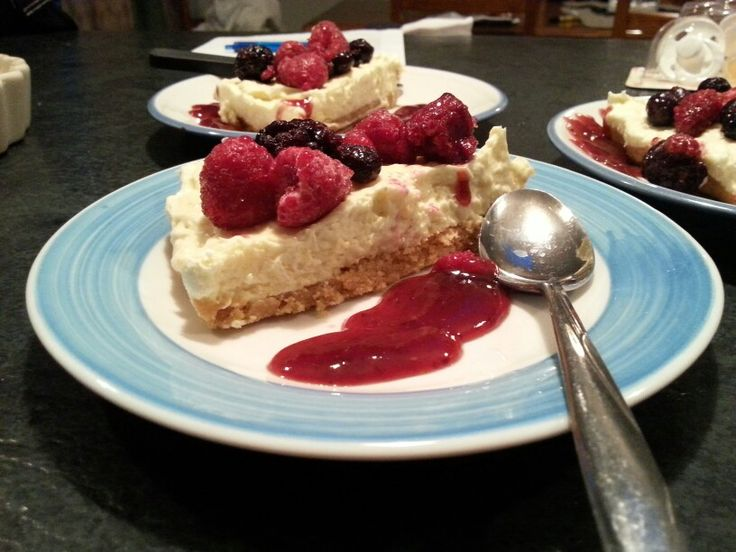 Berry Cheesecake. What more can I say!