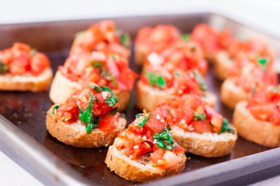 This Bruschetta is  light appetizer to serve alongside any dish.