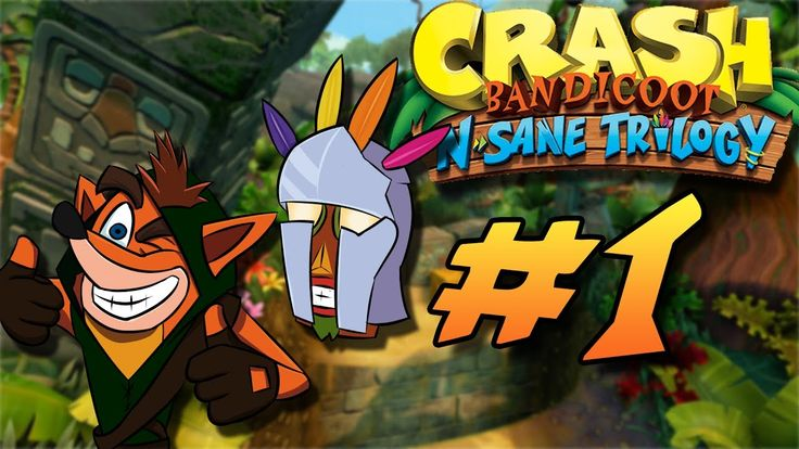 [Crash Bandicoot N. Sane Trilogy][Video] [Spoilers] A pair of idiots decide it's time they revisit a PS1 classic. #Playstation4 #PS4 #Sony #videogames #playstation #gamer #games #gaming