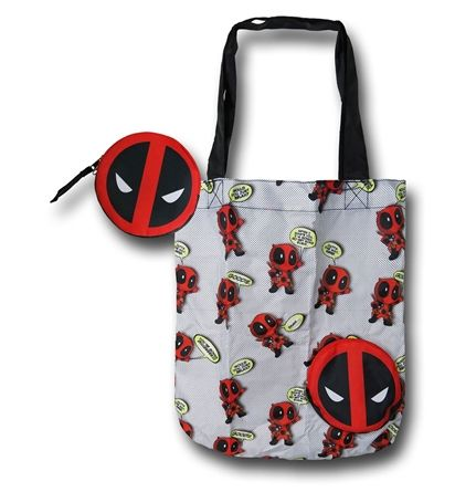 Images of Deadpool Packable Tote Bag