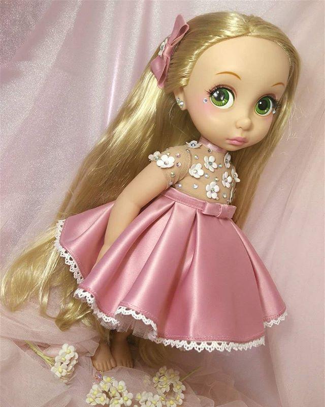 Cute :) #Happy #cute #princess  #disneyanimatordoll  #creamvanillaz_clothing