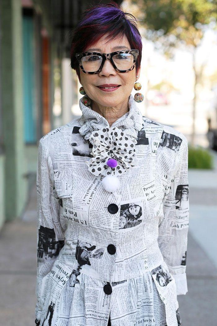Fotogaléria 8/13 - Kto doteraz žil v tom, že skvelý štýl obliekania a módne trendy sú výhradne záležitosťou mladšej generácie, mal by sa zamyslieť znova. Nasledujúce...