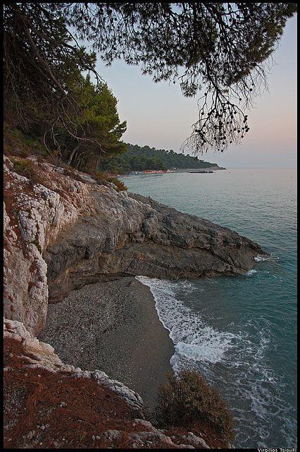 My private beach.. - Kastani beach Skopelos island | Flickr: partage de photos!