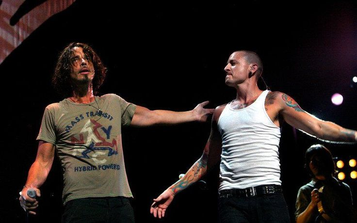 Chris Cornell tribute from his friend Chester Bennington of Linkin Park.