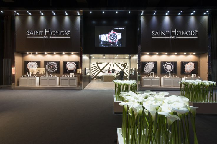 """Faithful to its values of style, tradition, innovation and passion, SAINT HONORE is making a definitive entrance into the arena of leading Swiss watchmakers with its new stand and collection.  SAINT HONORE looks forward to seeing you at its new address: """"Messe Basel"""" stand E21 (Hall 1.1),"""
