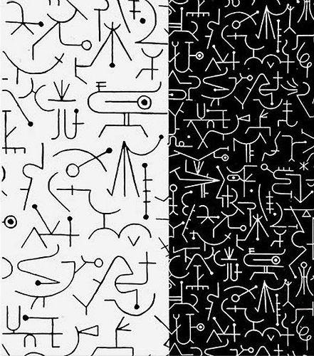Alvin Lustig Incantation, Textile Design 1947   Flickr - Photo Sharing!