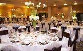Weddings at Stockton Seaview Hotel and Golf Club on the Jersey Shore, near Atlantic City.