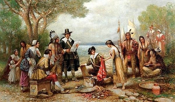 1626 - The Dutch buy Manhattan from the Indians