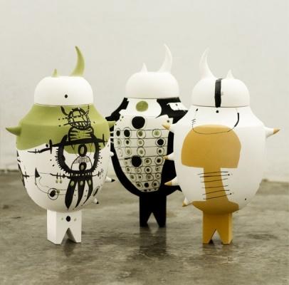 TODO MUTA STUDIO:'MAZAMA' Limited edition, Ceramic, 40 x 24 cm, 2012, unique piece