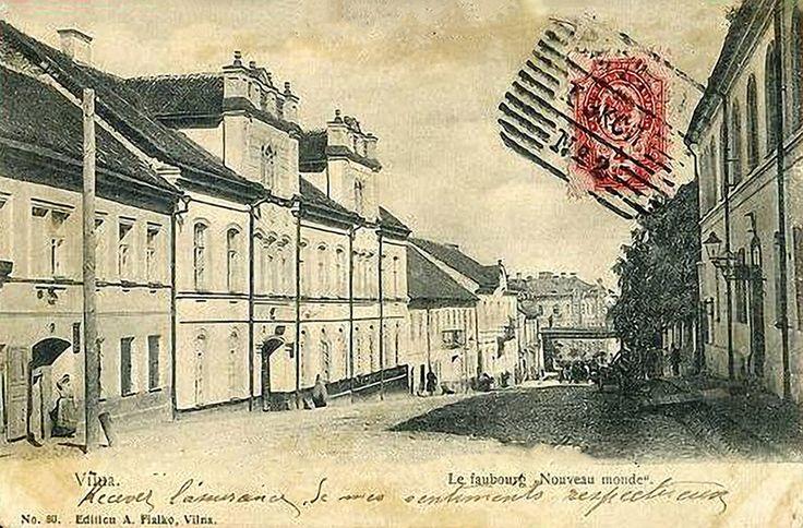 Польша, Литва. Россия. Истории из Вильны