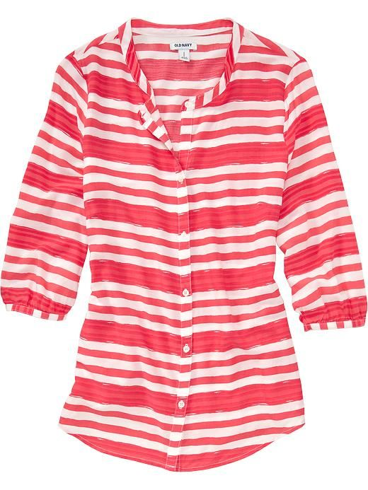 Old Navy | Women's Buttoned 3/4-Sleeve Tops