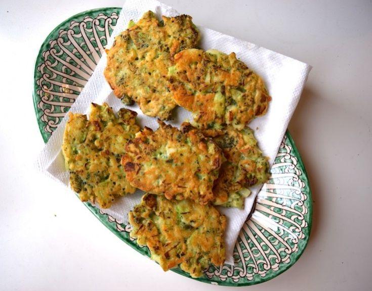 Broccolikoekjes, glutenvrij meel gebruiken