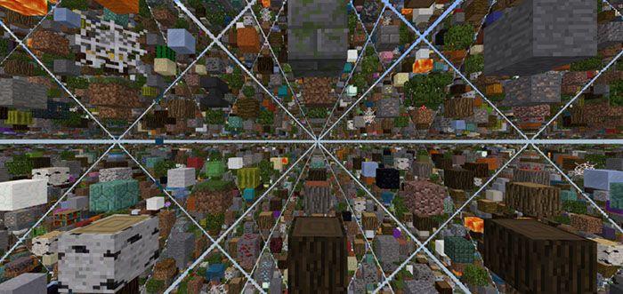 Skygrid Survival Bedrock Edition Survival Map Maps For Minecraft Pe Mcpe Box Bedrock Survival Minecraft Pe