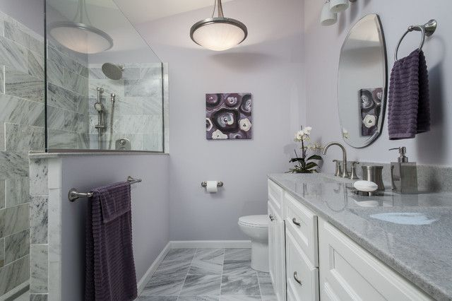 purple and lavender bathrooms