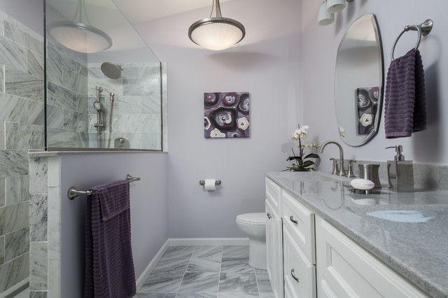 purple and lavender bathrooms