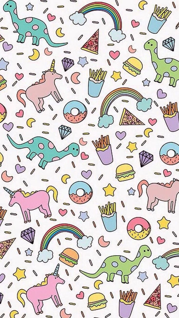 Wallpaper iphone tumblr unicorn - This Is Everything Fries Unicorns