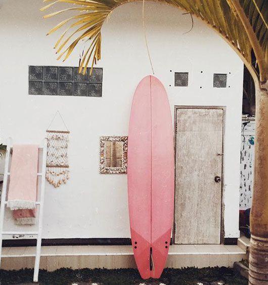 Summer surf.