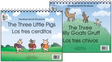 Developmental Storybook (The Three Little Pigs/Three Billy Goats Gruff | Frog Street Press