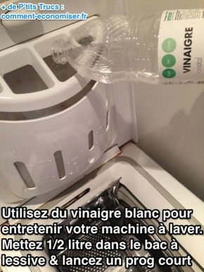 1000 id es sur le th me machines laver sur pinterest - Fixer les couleurs avec du vinaigre blanc ...