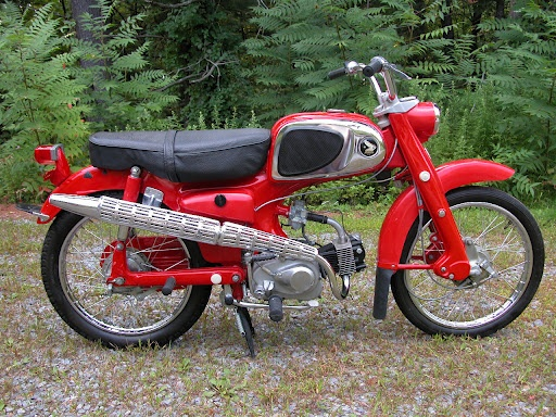 1960 Honda Sport 50 - I still have my Dad's old Honda 50 in the shed!