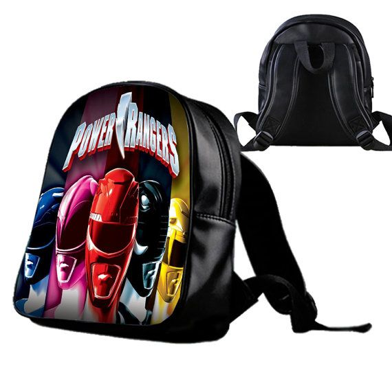 Power Rangers  Backpack/Schoolbags for kids. by Wonderfunny #Minecraft #backpack #schoolbags #gift #birthday