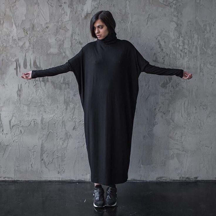 """282 Likes, 10 Comments - WEARFOREST by Liza Sidorina (@wearforest) on Instagram: """"приехали! черные и серые платья и туники Gala с высоким горлом уже в шоуруме и на сайте 🖤 теплая…"""""""