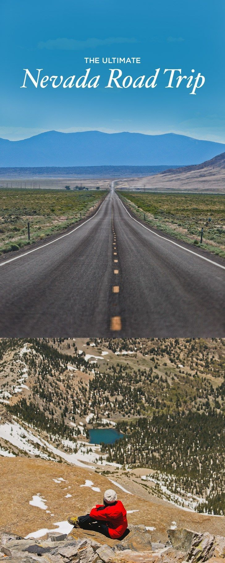 Interactive Map Usa Road Trip%0A The Ultimate Nevada Road Trip  Best Things do See in Nevada     localadventurer