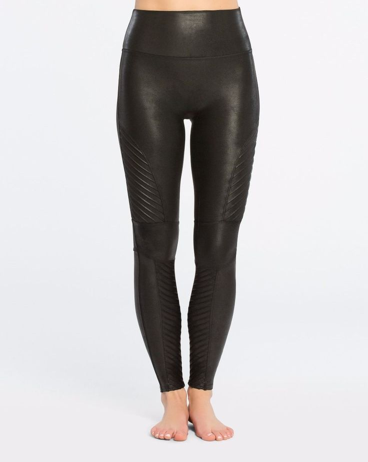 Spanx Moto Faux Leather Legging