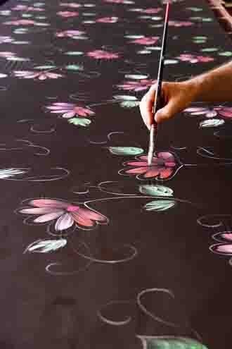 Best silk painter in France