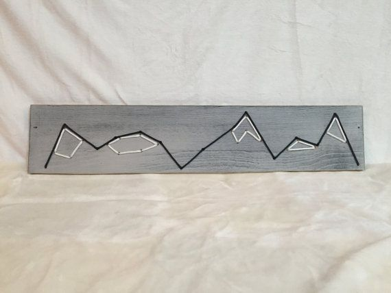 Mountain Peaks by HighElevationDesigns on Etsy