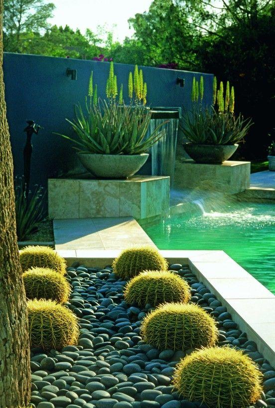 Oltre 25 fantastiche idee su gartengestaltung mit kies su - Gartengestaltungsideen mit pool ...