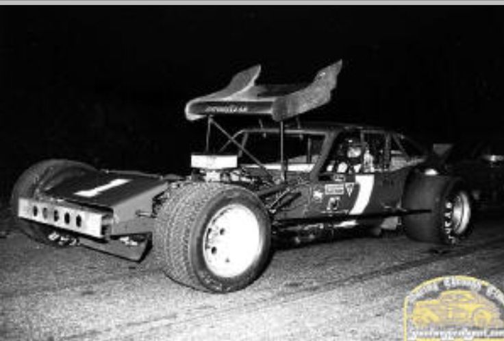 Geoff Bodine Winged Modified 1978 Race Cars Modified