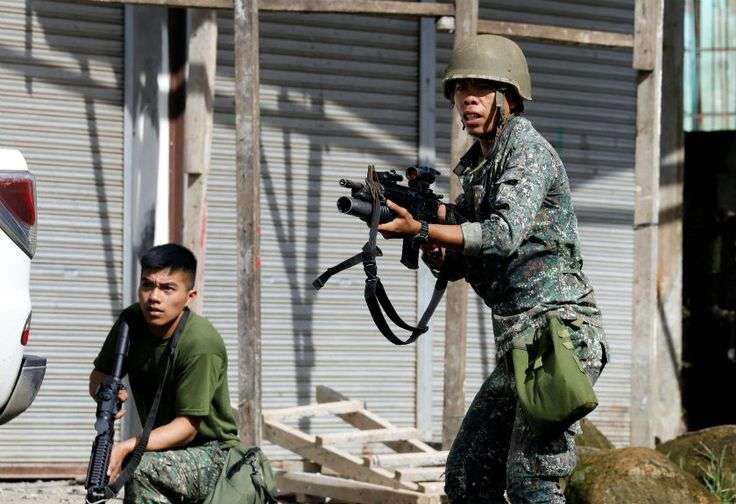 Puluhan Pemberontak Asing Mulai Masuki Kota Marawi Filipina