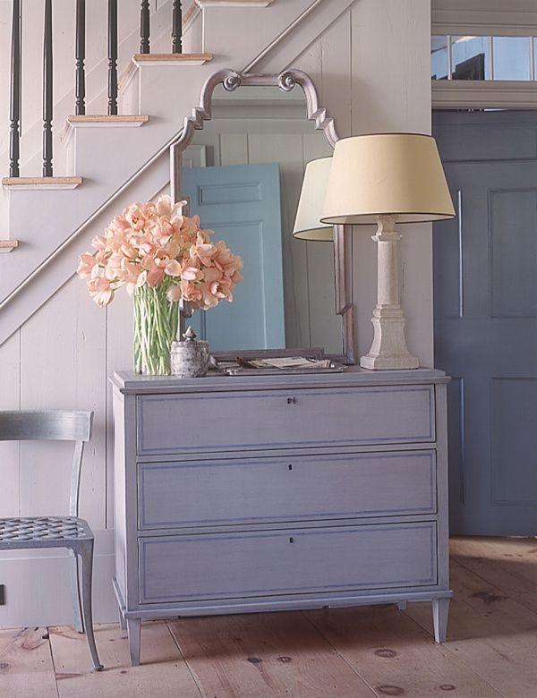 20 Astonishing Entryway Design Ideas: Entryway Idea From Martha Stewart ~  Manningmarable. Antique Painted FurnitureDistressed ...